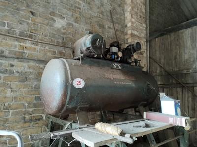 Lot 25 - Ingersoll-Rand Air Compressor