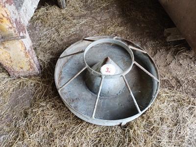 Lot 32 - Round Pig Feeder