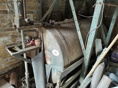 Lot 46 - Oil Tank with Pump