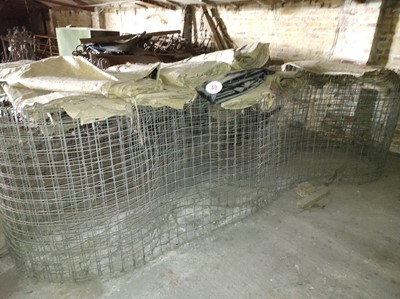 Lot 49 - Qty of Grain Fencing